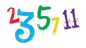 prime numbers 2,3,5,7,11