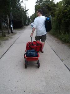 Wagon Traffic!
