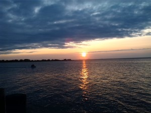 Typical Sunset on the Bay