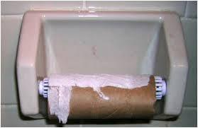 empty roll
