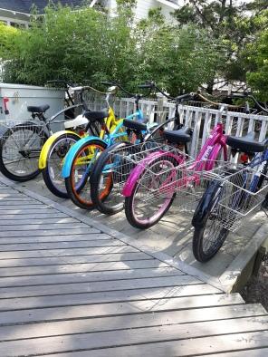 House Rainbow Bikes