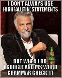 highfalutin