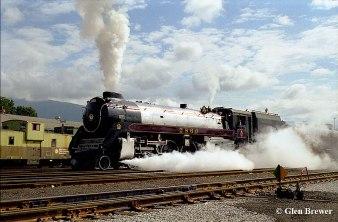 Royal Hudson steam train